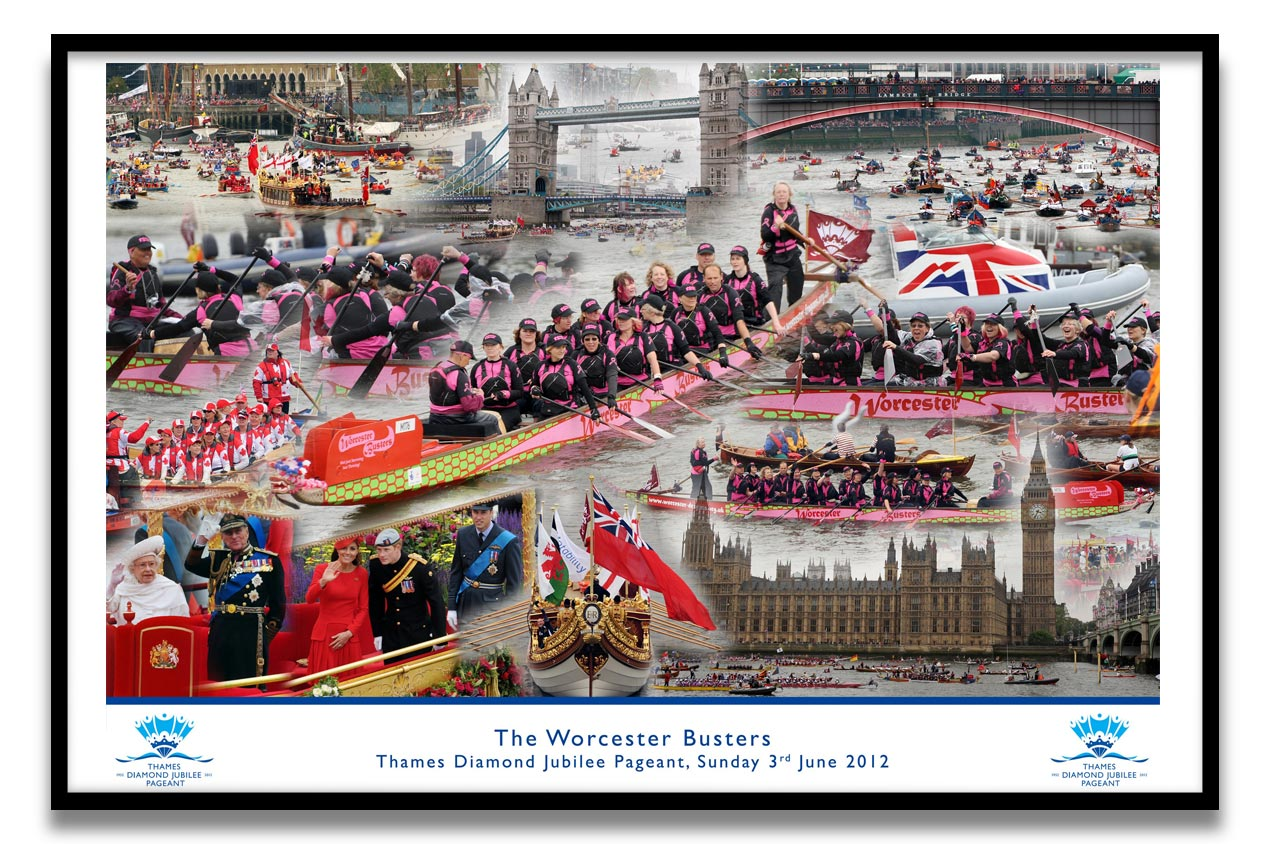 Thames Diamond Jubilee Pageant 2012